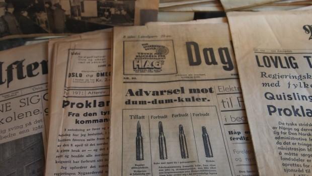 Avis fra krigsårene