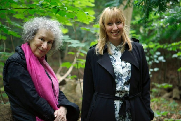 Margaret Atwood og Katie Paterson