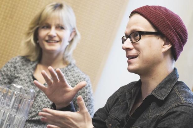 Ingela Korsell og Henrik Jonsson