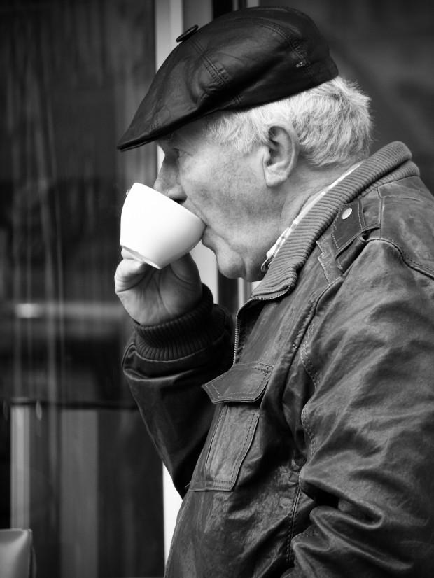 kaffedrikking