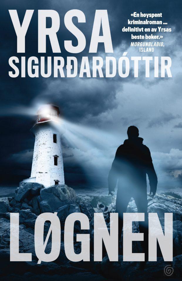 """Coverbilde til kriminalromanen """"Løgnen"""""""