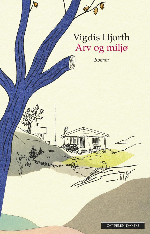 Bokomslaget til Arv og Miljø av Vigdis Hjorth