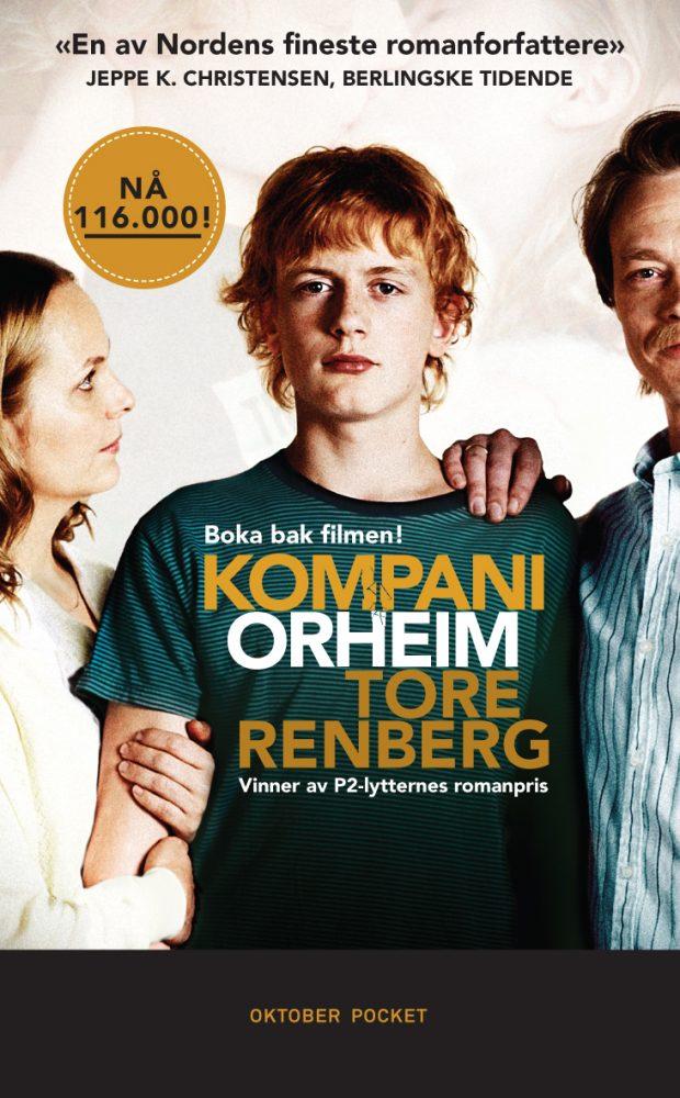 Bokcover: Kompani Orheim av Tore Renberg, Oktober forlag