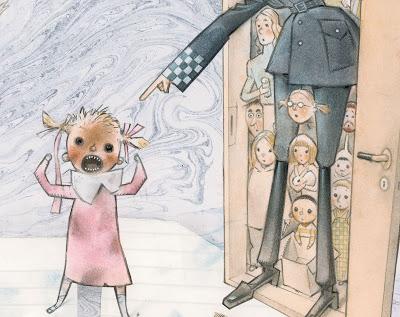 """Fra bildeboken """"Snill"""", illustrert av Svein Nyhus"""