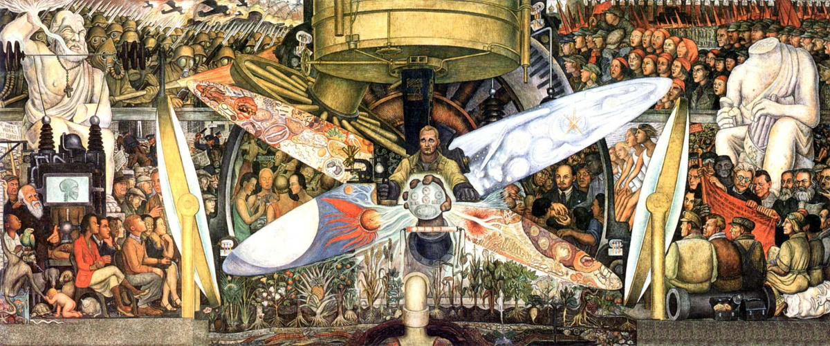 Man, Controller of the Universe av Diego Rivera