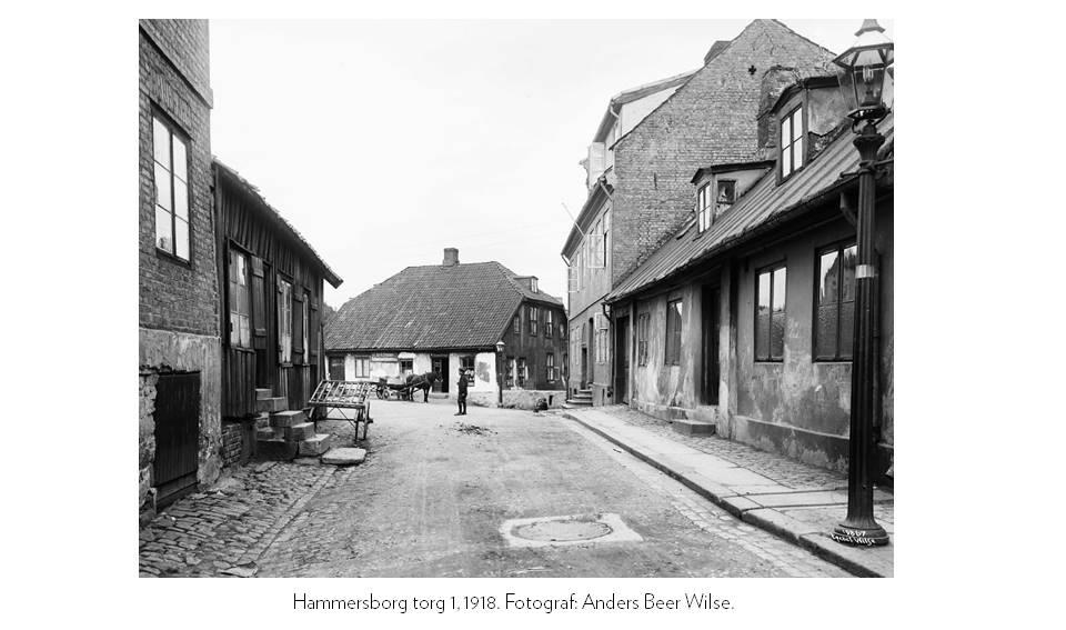 Hammersborg torg 1, 1918. Fotograf: Anders Beer Wilse.