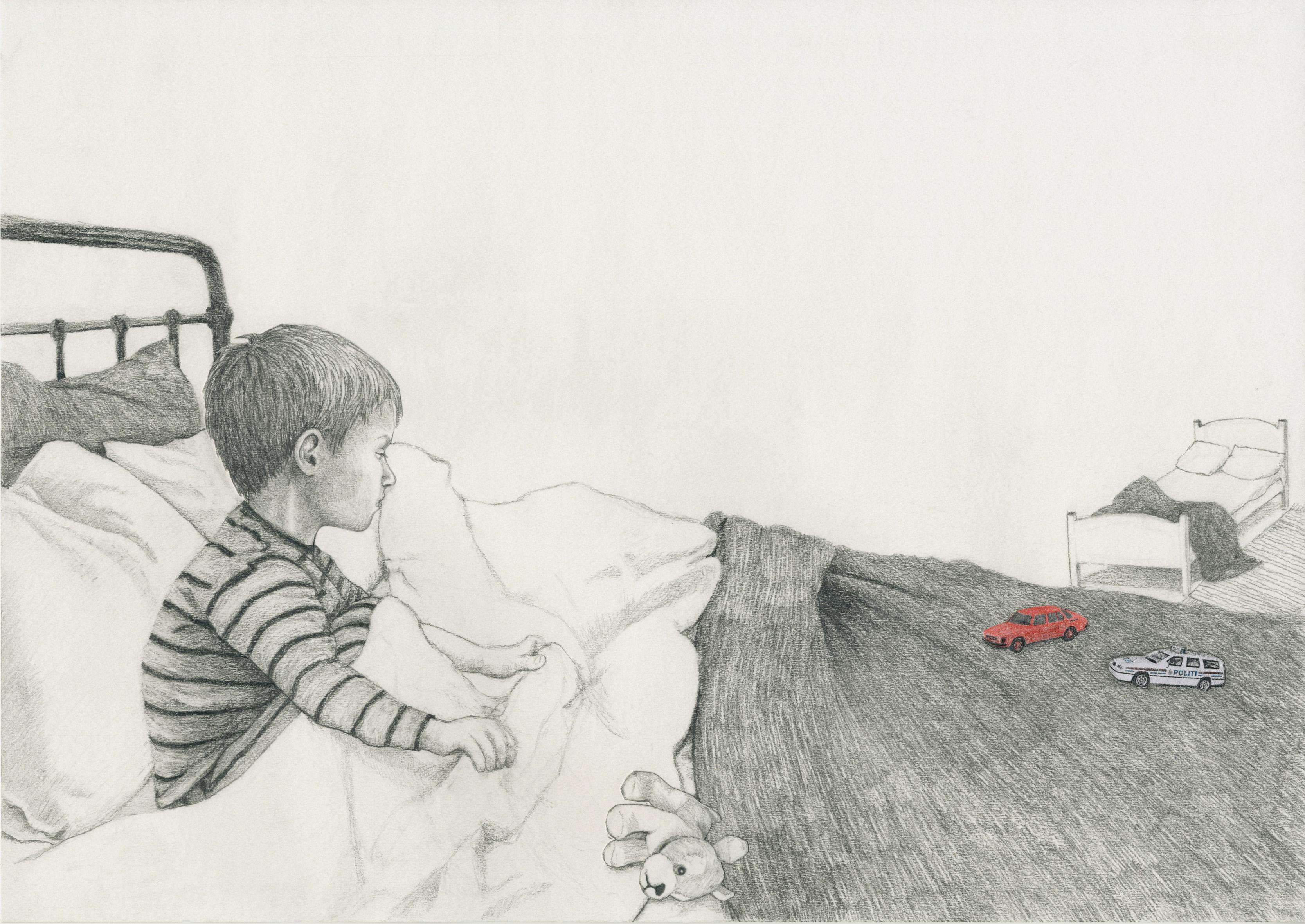 Illustrasjon fra Hauk: Susanna Kajermo