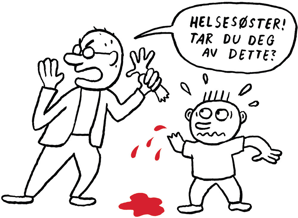 Illustrasjon: Kristoffer Kjølberg