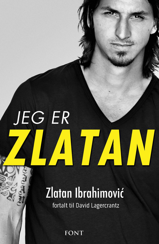 Jeg er Zlatan, Font