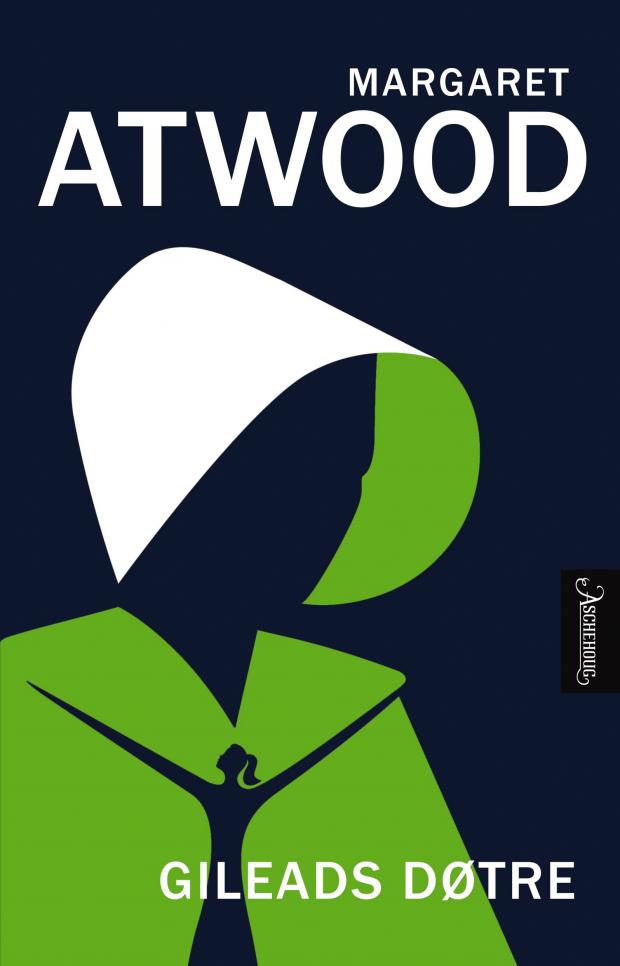 Omslag: Gileads døtre av Margaret Atwood, Aschehoug