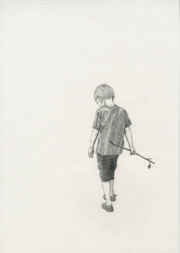Illustrasjon Susanna Kajermo, fra Hauk