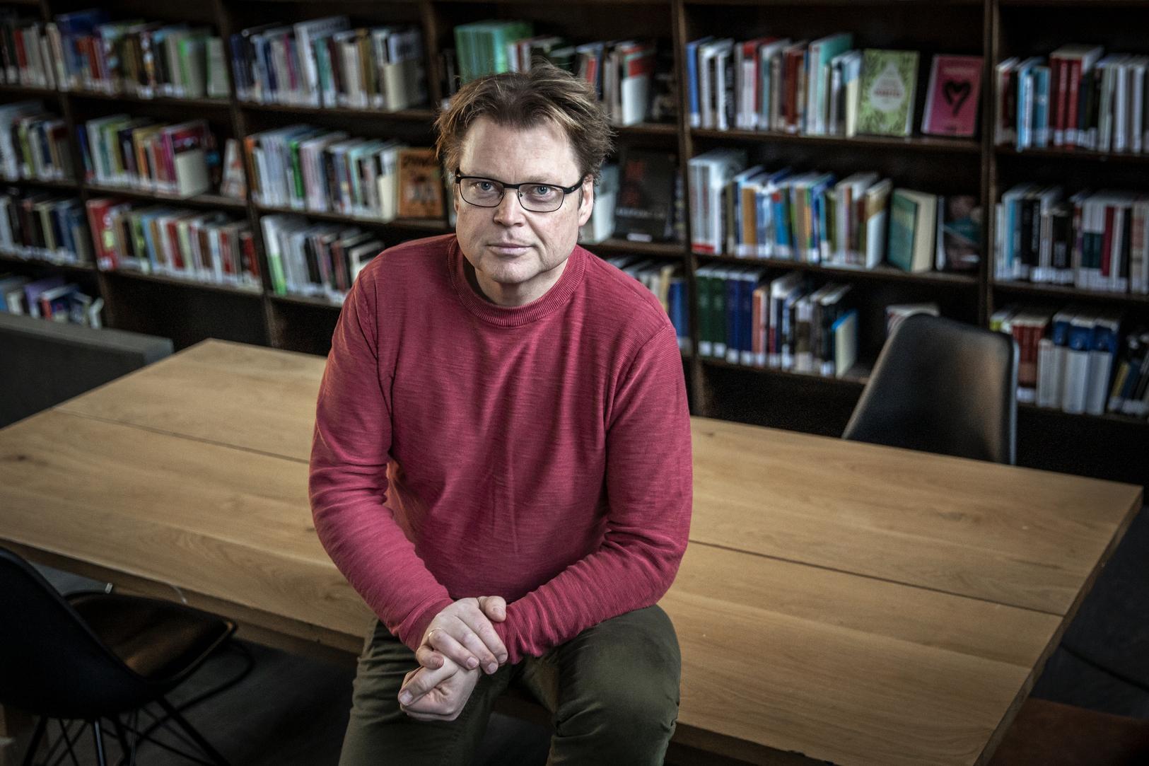 Foto av Jørn Lier Horst: Erik Thallaug