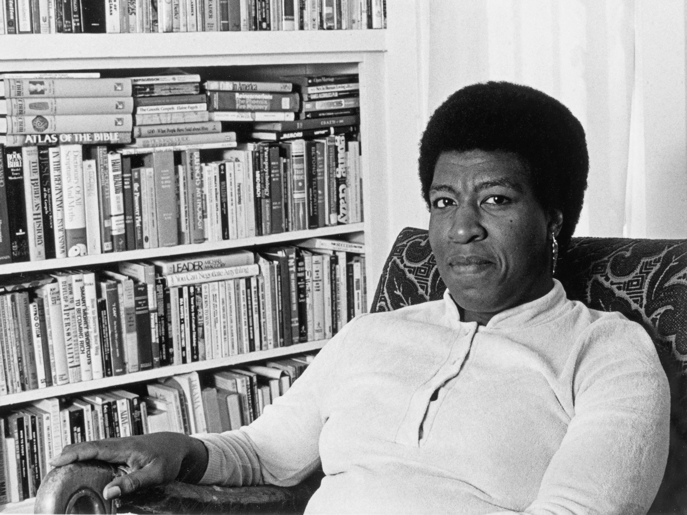 Foto av Octavia Butler: Huntington Library