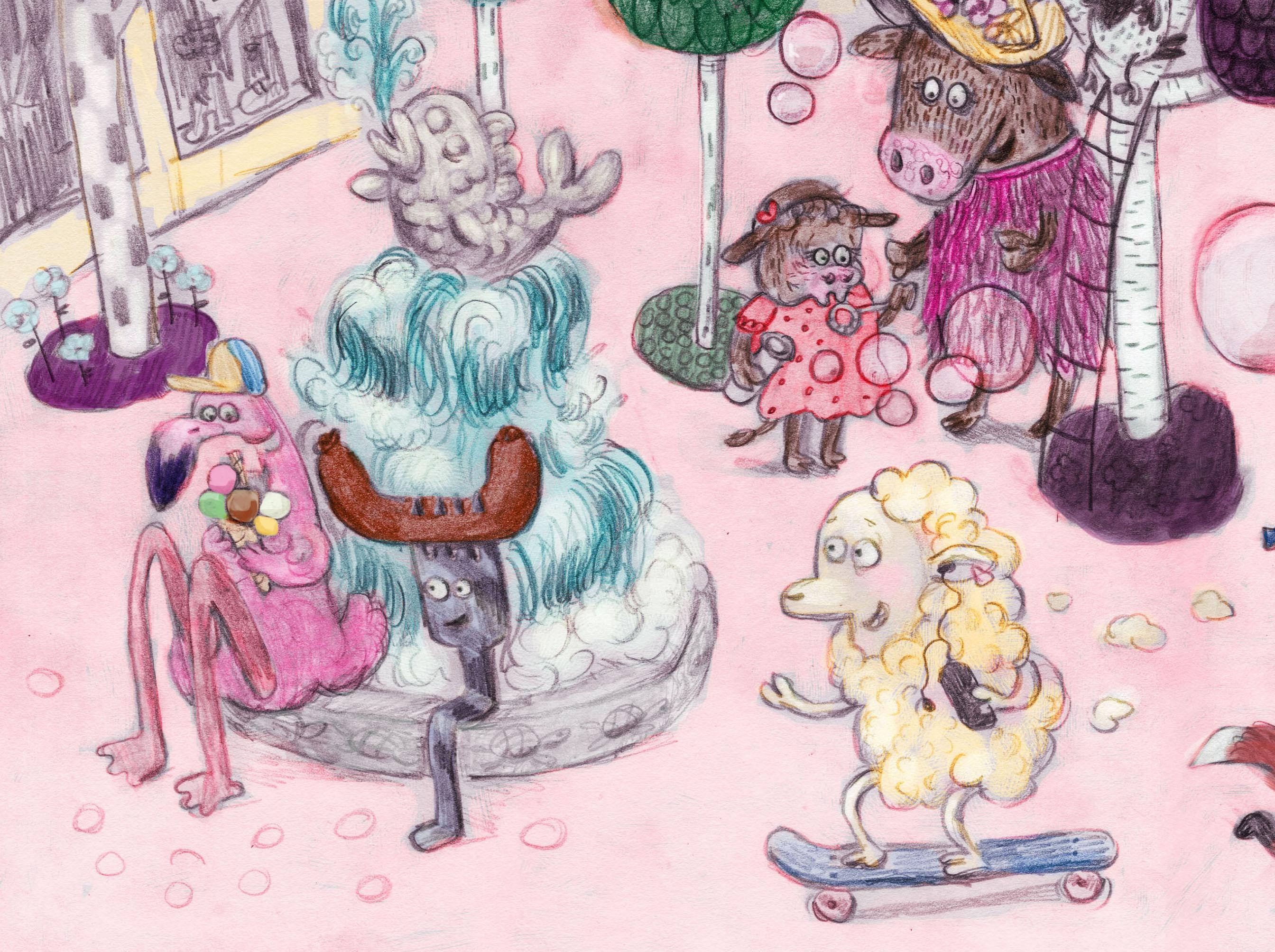 Illustrasjon: Camilla Kuhn