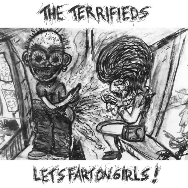 The Terrifieds album cover