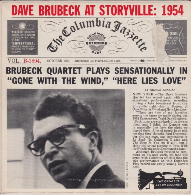 the-dave-brubeck-quartet-gone-with-the-wind-columbia