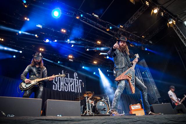 Sólstafir på Tons of Rock 2015. Foto: Johannes Granseth