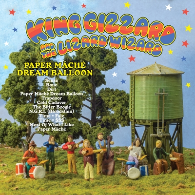 King Gizzard & The Lizard Wizard – Quarters Paper Mâché Dream Balloon