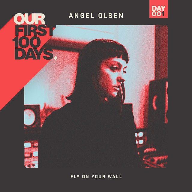 """Angel Olsens """"Fly on Your Wall"""" var første låt ut da Donald Trump ble tatt i ed."""