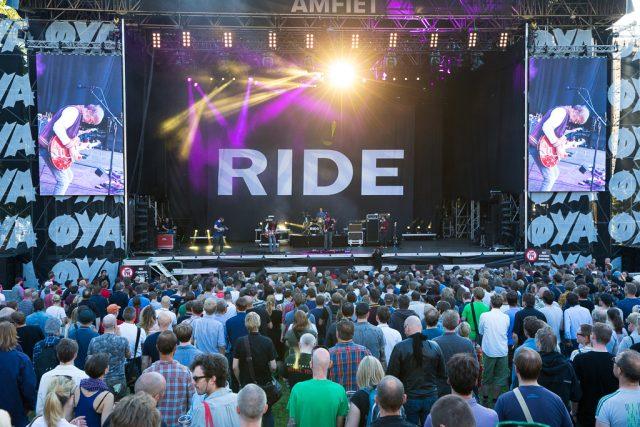 Ride på Øyafestivalen i 2015. Foto: Tommy Østby: