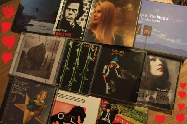 Cd-cover Nick Cave med flere