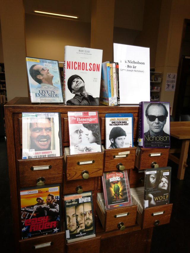 Jack Nicholson utstilling