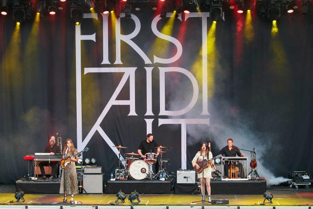 First Aid Kit På Piknik i Parken. Foto: Stian Schløsser Møller