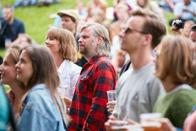 Spoon på Piknik i Parken 2017, Foto: Stian Schløsser Møller
