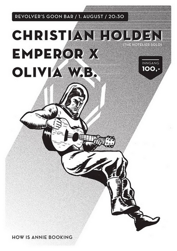How Is Annie Records presentererer Christian Holden (Hotelier) Emperor X Olivia W.B. på Revolver 1. aug2