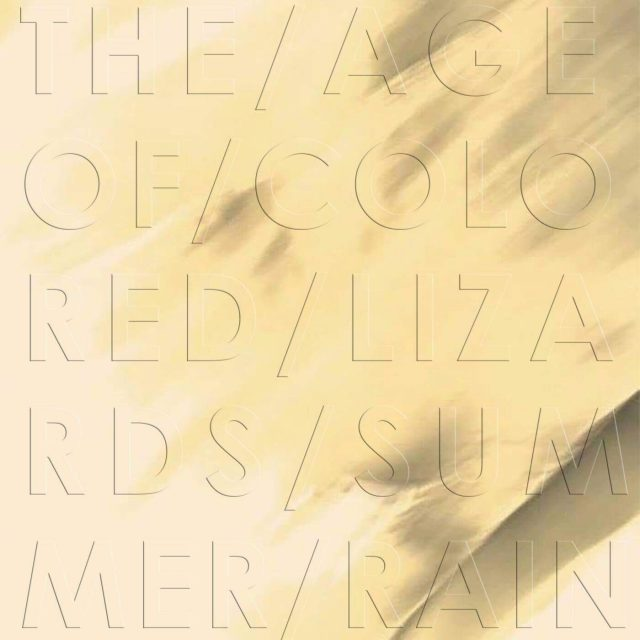 The Age of Colored Lizard albumcover