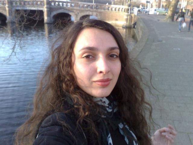 Hanan Benammar, en av lederne i Vandaler forening og organisator av Winter Solstice siden 2012.